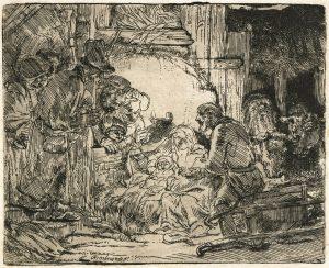 Rembrandt aanbidding