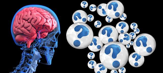 hersenen vraagtekens