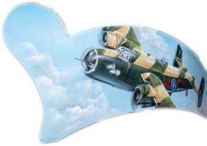 vliegtuig Alphen oorlog