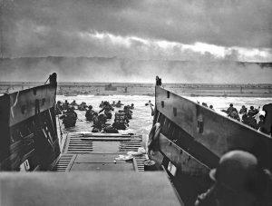 landingsvaartuig d-day oorlog bevrijding