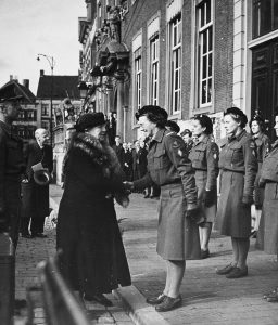bevrijding Koningin Wilhelmina