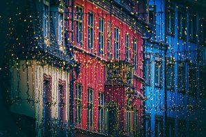 kerst sfeer kerstverlichting