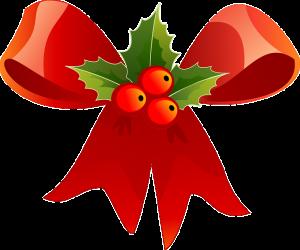 kerst strik lint