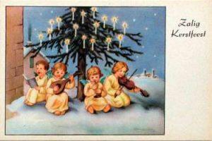 kerstkaart zalig Kerstfeest