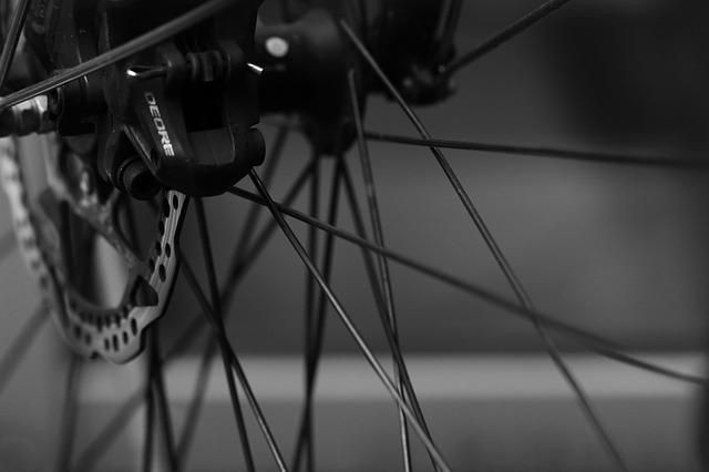 fietswiel spaak ketting
