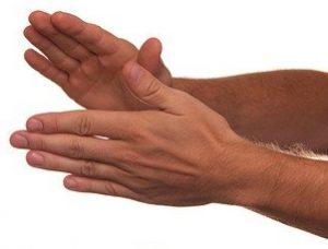 hand klappen